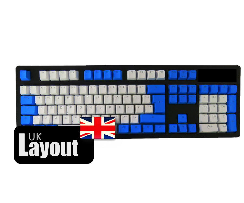 Tai-Hao PBT Backlit Double Shot Keycaps Raindrop UK